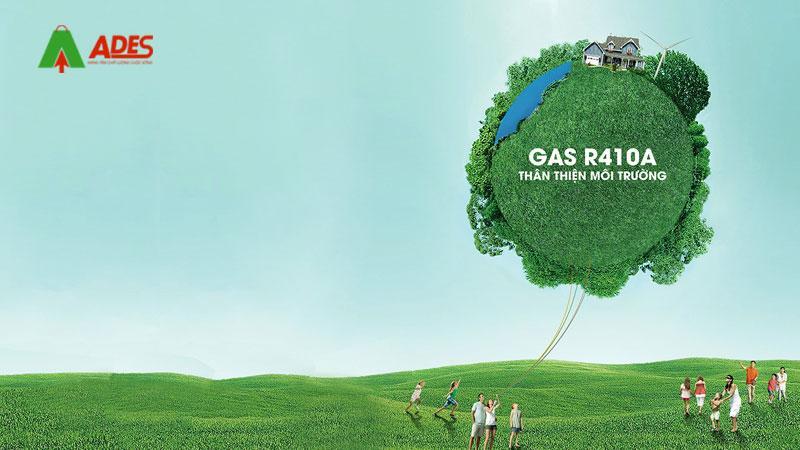 Gas R410A - Hieu suat lam lanh cao