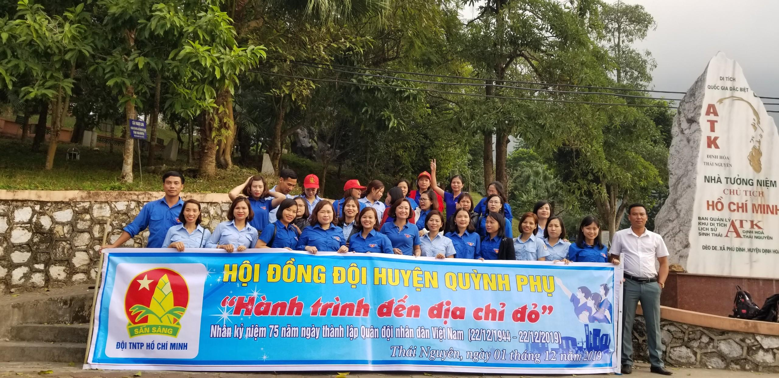 Quỳnh Phụ: Hành trình về địa chỉ đỏ nhân kỷ niệm 30 năm Ngày hội QPTD và 75 năm ngày thành lập QĐND Việt Nam
